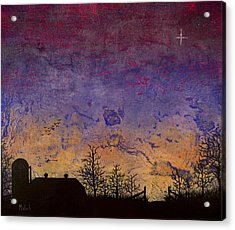 Rural Sunset Acrylic Print by Jack Malloch