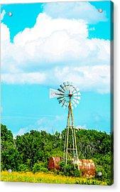 Rural Texas Acrylic Print