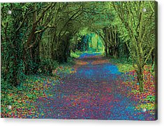 Rush Avenue Acrylic Print