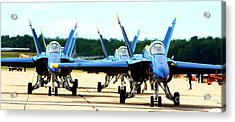 Rush Hour For Angels Acrylic Print
