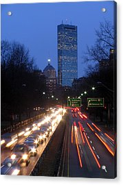 Rush Hour Acrylic Print by Juergen Roth
