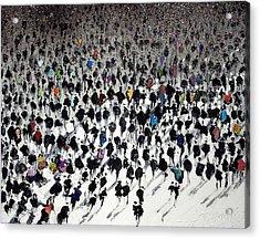 Rush Hour Acrylic Print by Neil McBride