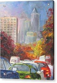 Rush Hour Acrylic Print by Susan Richardson