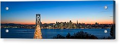 Rush Hour Traffic On The Bay Bridge Acrylic Print