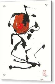 Acrylic Print featuring the painting Rushiasurubi No Kuchibiru by Roberto Prusso