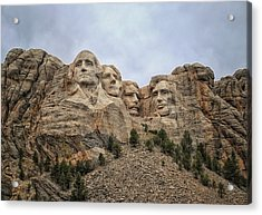Rushmore Acrylic Print by Tricia Marchlik