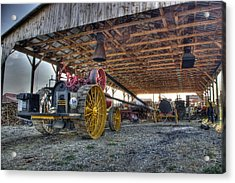 Russell At The Saw Mill Acrylic Print