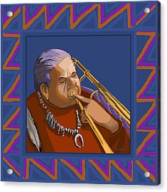 Russell Big Chief Moore Acrylic Print