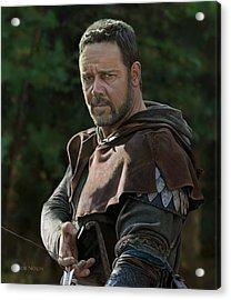 Russell Crowe As Robin Hood Acrylic Print