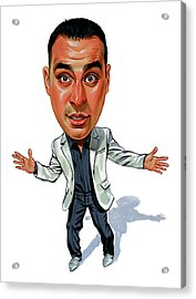 Russell Peters Acrylic Print by Art