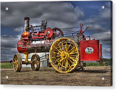 Russell Steam Acrylic Print by Shelly Gunderson