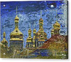 Acrylic Print featuring the photograph Russia by Irina Hays