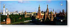 Russia, Moscow, Red Square Acrylic Print by Panoramic Images