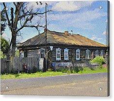 Russia Village 2 Acrylic Print
