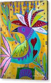 Russian Bird  Acrylic Print