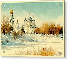 Russian Winter 2 Acrylic Print
