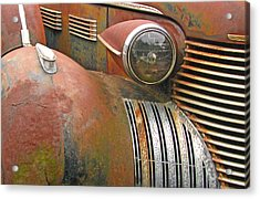 Rust ... The Other Color Acrylic Print