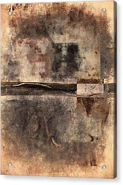 Rust And Walls No. 2 Acrylic Print by Carol Leigh