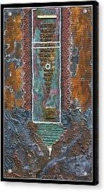 Rust-art 02 Acrylic Print by Gertrude Scheffler