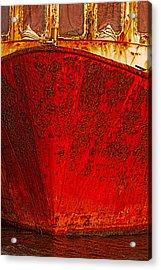 Rust Bucket Acrylic Print