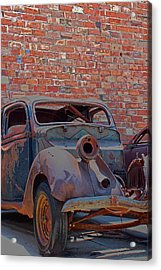 Acrylic Print featuring the photograph Rust In Goodland by Lynn Sprowl