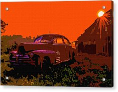 Rust In Peace 4 Acrylic Print by Brian Stevens