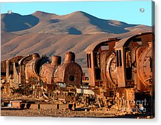 Rust In Peace Acrylic Print by James Brunker