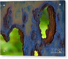Rust In Peace Acrylic Print by Joy Hardee