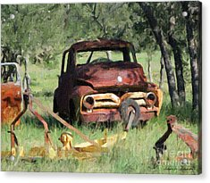 Rust In Peace No. 2 Acrylic Print