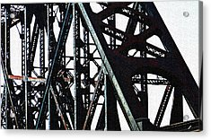 Rust Acrylic Print by Jenny Bowman