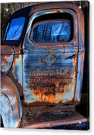 Rust Never Sleeps Acrylic Print by Wayne King