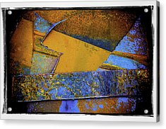 Acrylic Print featuring the photograph Rust Number 1 by Craig Perry-Ollila