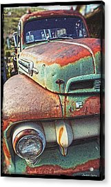 Rust Or Bust Acrylic Print by Justin  Curry