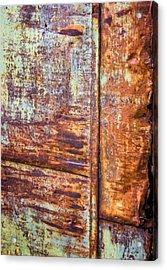 Rust Rules Acrylic Print by Steve Harrington