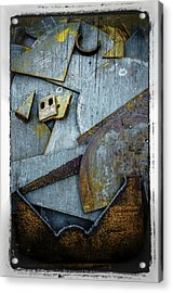 Acrylic Print featuring the photograph Rust Two by Craig Perry-Ollila