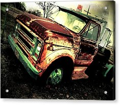 Rusted And Busted Acrylic Print by Denisse Del Mar Guevara