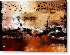 Rusted Desert Harmony Acrylic Print