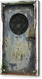 Rusted Door Acrylic Print by Melissa Stoudt