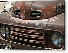 Rusted Ford In Hackberry Acrylic Print