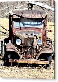 Acrylic Print featuring the photograph Rusted Love by Cathy Shiflett