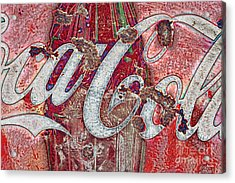 Rusted Memories Acrylic Print by Scott Pellegrin