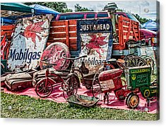 Rusted Memories Acrylic Print