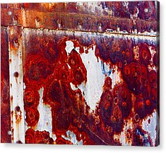 Rusted Metal Acrylic Print by Craig Brown