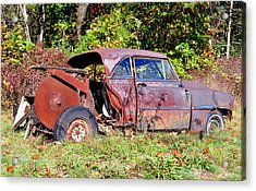 Rusted Old Car Acrylic Print