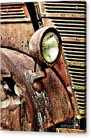 Acrylic Print featuring the photograph Rusted by Ron Roberts
