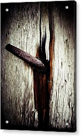 Rusted Time Acrylic Print