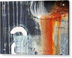 Rusted Waterfall Acrylic Print by Jani Freimann