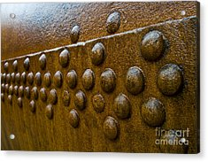Rusted Whaling Machinery Acrylic Print by John Shaw