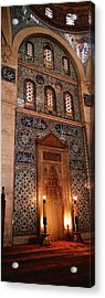 Rustem Pasa Mosque Istanbul Turkey Acrylic Print by Panoramic Images