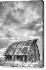 Rustic Barn Acrylic Print by Jane Linders